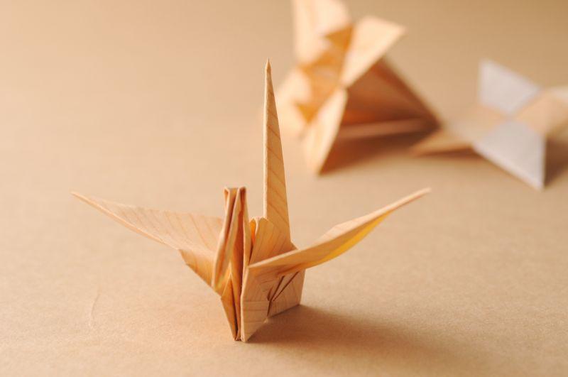 簡単 折り紙 折り紙 木 : kinomeishi.com